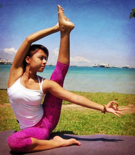 Rashita – Our Yoga Teacher