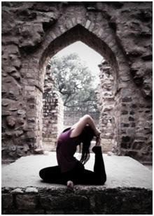 Queenie – Our Yoga Teacher